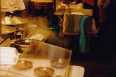 China 1993 April China into Hong Kong. (130) Hong Kong at night. 130