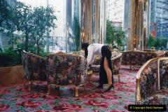 China 1993 April China into Hong Kong. (14)  Our Hong Kong Hotel. 014