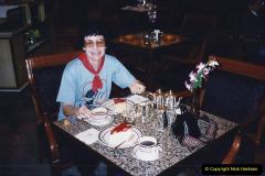China 1993 April China into Hong Kong. (172) Lunch.172