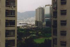 China 1993 April China into Hong Kong. (177) Last look at Hong Kong. 177