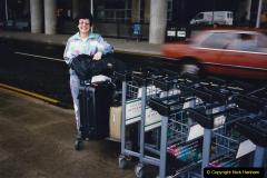 China 1993 April China into Hong Kong. (182) Back in London. 182