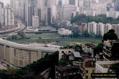 China 1993 April China into Hong Kong. (21) Happy Valley. 022