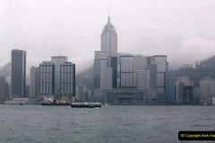 China 1993 April China into Hong Kong. (49) Hong Kong from Kowloon. 049