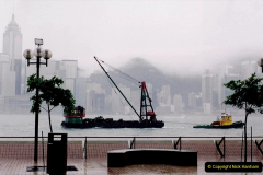 China 1993 April China into Hong Kong. (51) Hong Kong from Kowloon. 051
