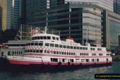China 1993 April China into Hong Kong. (58) Hong Kong. 058