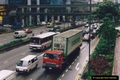 China 1993 April China into Hong Kong. (63) Hong Kong. 063