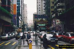 China 1993 April China into Hong Kong. (64) Hong Kong. 064