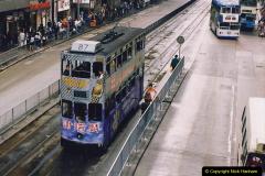China 1993 April China into Hong Kong. (67) Hong Kong. 067