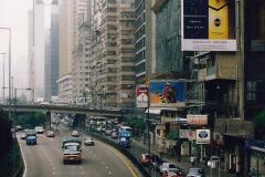 China 1993 April China into Hong Kong. (69) Hong Kong. 069