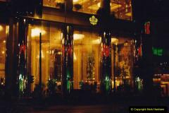 China 1993 April China into Hong Kong. (7)  Our Hong Kong Hotel. 007