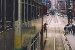 China 1993 April China into Hong Kong. (75) Hong Kong. 075