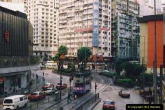 China 1993 April China into Hong Kong. (78) Hong Kong. 078