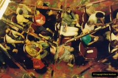 China 1993 April China into Hong Kong. (9)  Our Hong Kong Hotel. Awaiting room allocation.009
