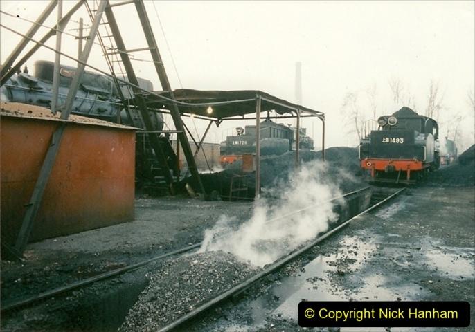 China 1997 November Number 1. (100) Steel Works shed area. 100