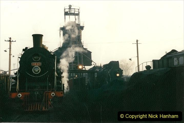 China 1997 November Number 1. (101) Steel Works shed area. 101