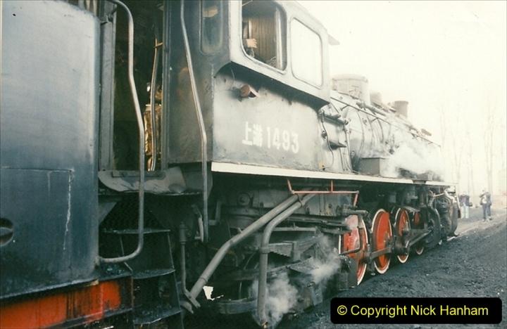 China 1997 November Number 1. (102) Steel Works shed area. 102