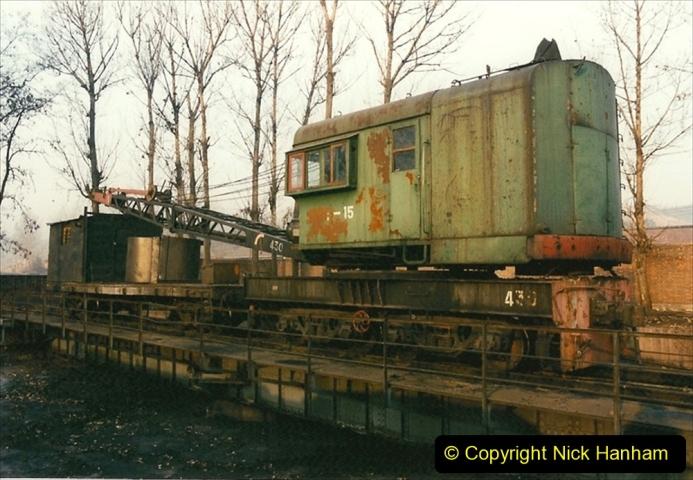 China 1997 November Number 1. (106) Steel Works shed area. 106