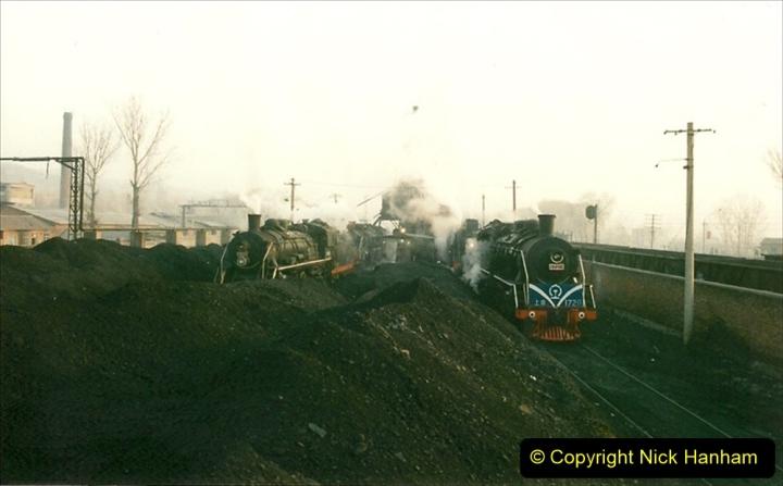 China 1997 November Number 1. (107) Steel Works shed area. 107