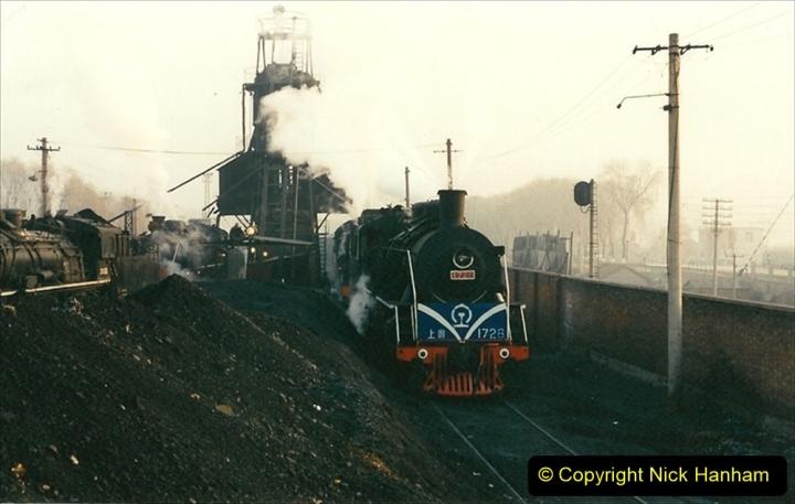 China 1997 November Number 1. (108) Steel Works shed area. 108