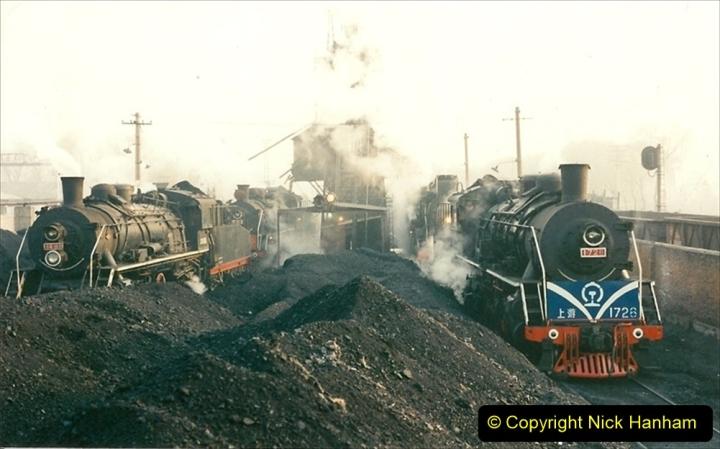 China 1997 November Number 1. (110) Steel Works shed area. 110