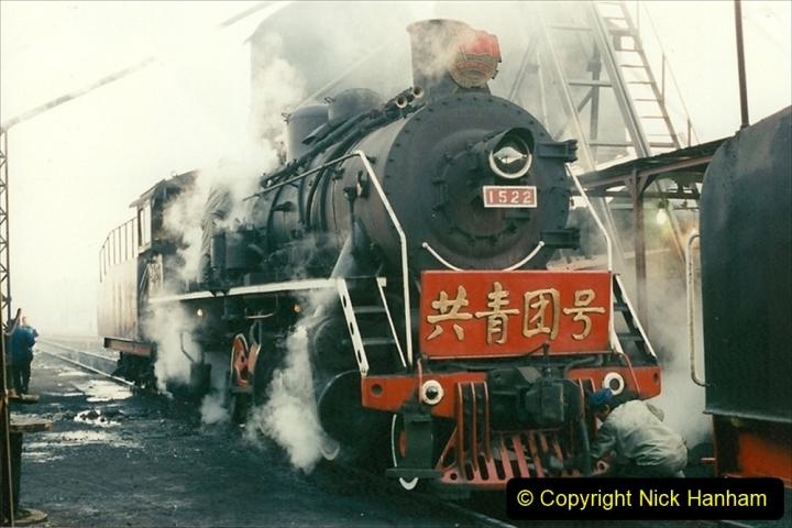China 1997 November Number 1. (111) Steel Works shed area. 111