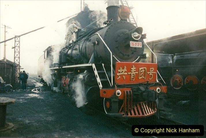 China 1997 November Number 1. (112) Steel Works shed area. 112
