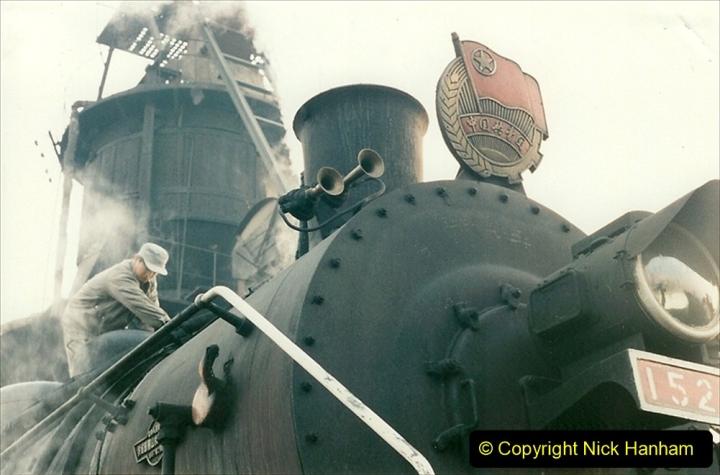 China 1997 November Number 1. (113) Steel Works shed area. 113