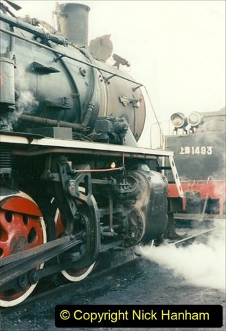 China 1997 November Number 1. (115) Steel Works shed area. 115