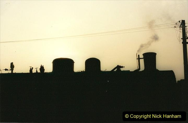 China 1997 November Number 1. (118) Steel Works shed area. 118
