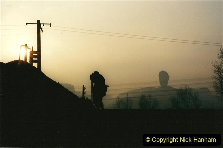 China 1997 November Number 1. (119) Steel Works shed area. 119