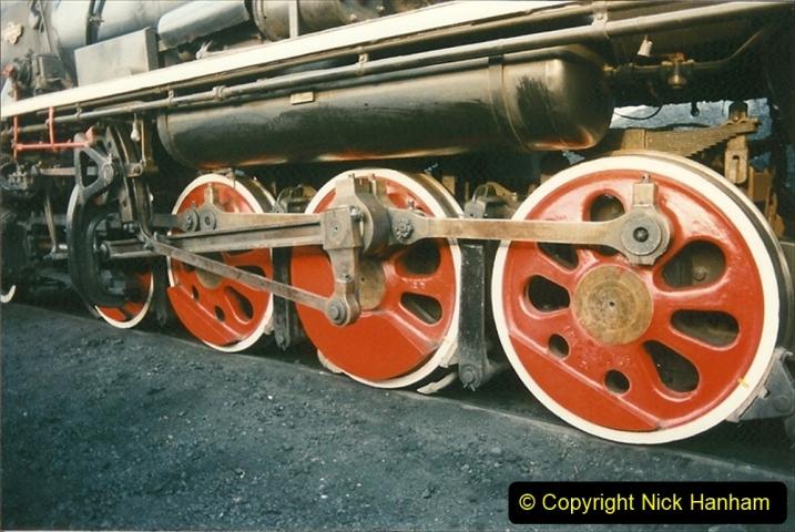 China 1997 November Number 1. (123) Steel Works shed area. 123