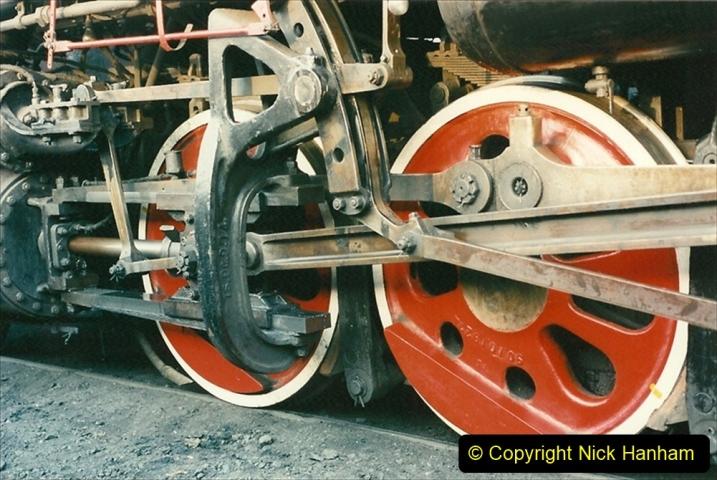 China 1997 November Number 1. (124) Steel Works shed area. 124