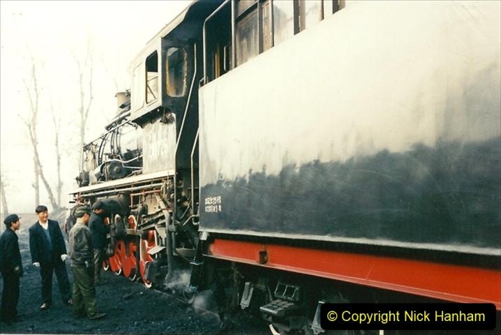 China 1997 November Number 1. (125) Steel Works shed area. 125