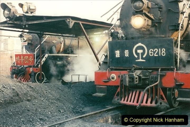 China 1997 November Number 1. (127) Steel Works shed area. 127