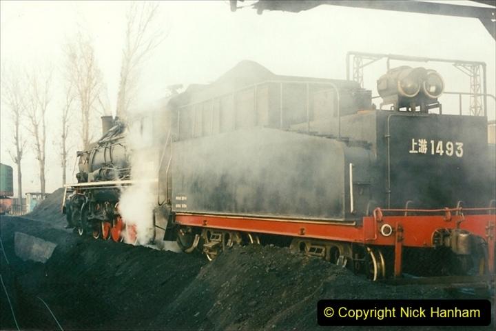 China 1997 November Number 1. (128) Steel Works shed area. 128