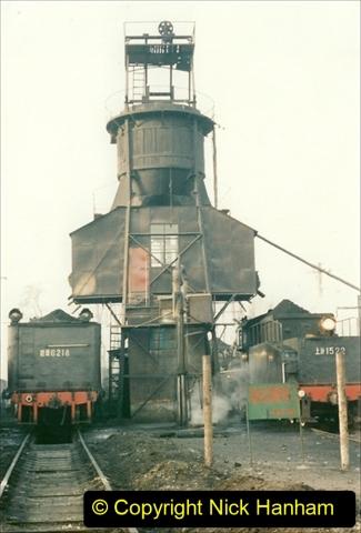 China 1997 November Number 1. (130) Steel Works shed area. 130