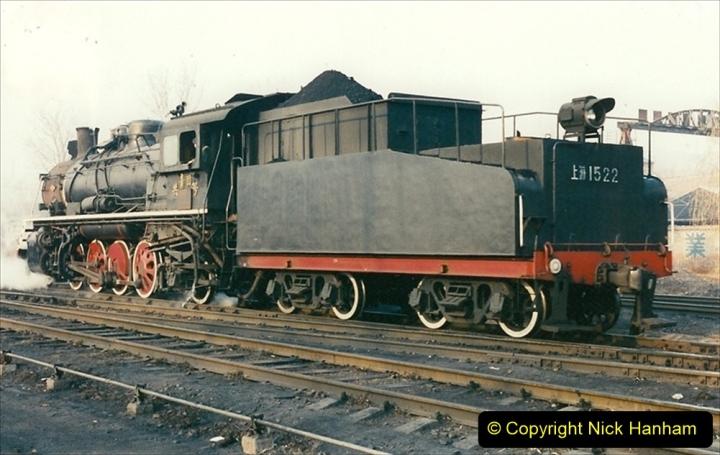 China 1997 November Number 1. (131) Steel Works shed area. 131