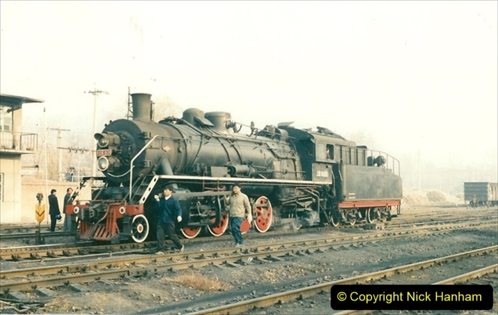 China 1997 November Number 1. (133) Steel Works shed area. 133