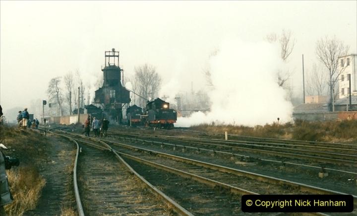 China 1997 November Number 1. (134) Steel Works shed area. 134
