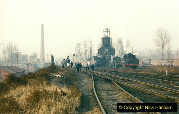 China 1997 November Number 1. (135) Steel Works shed area. 135
