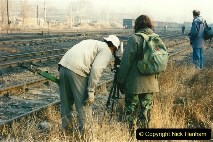 China 1997 November Number 1. (136) Steel Works shed area. 136