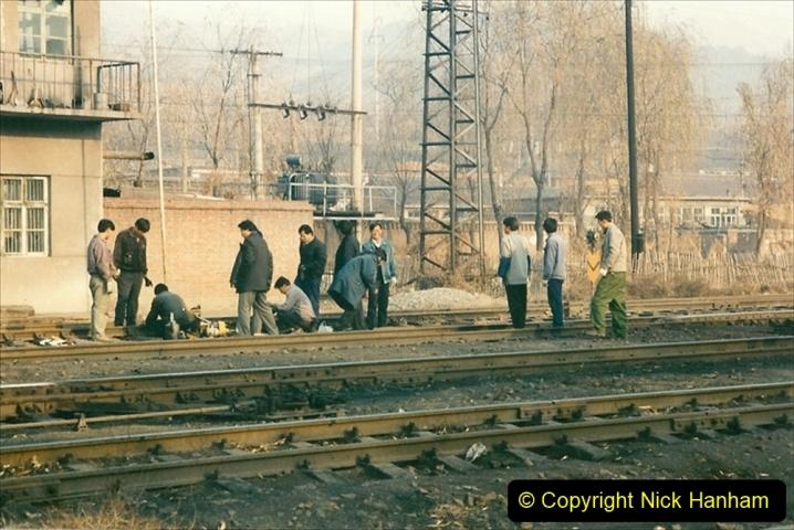 China 1997 November Number 1. (138) Steel Works shed area. 138