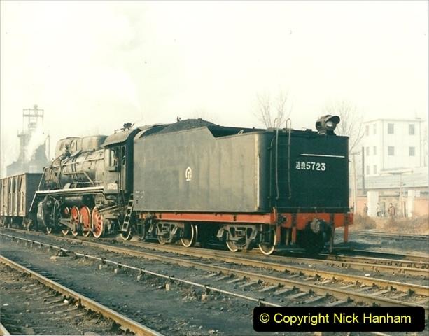 China 1997 November Number 1. (139) Steel Works shed area. 139