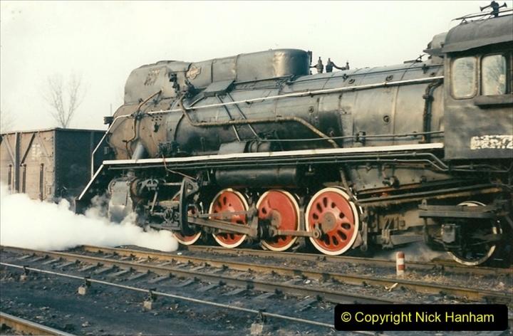 China 1997 November Number 1. (141) Steel Works shed area. 141