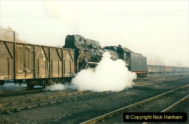 China 1997 November Number 1. (142) Steel Works shed area. 142