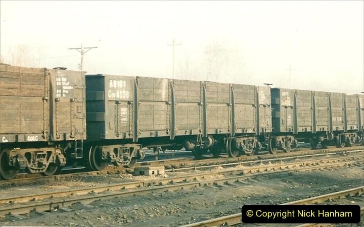China 1997 November Number 1. (143) Steel Works shed area. 143