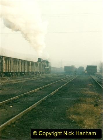 China 1997 November Number 1. (144) Steel Works shed area. 144