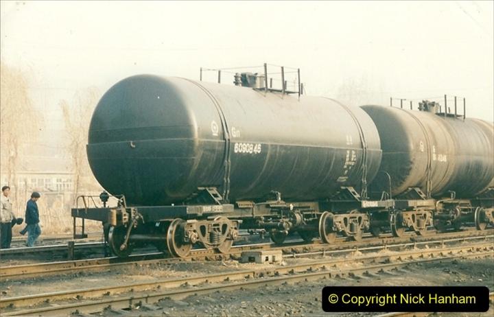 China 1997 November Number 1. (145) Steel Works shed area. 145