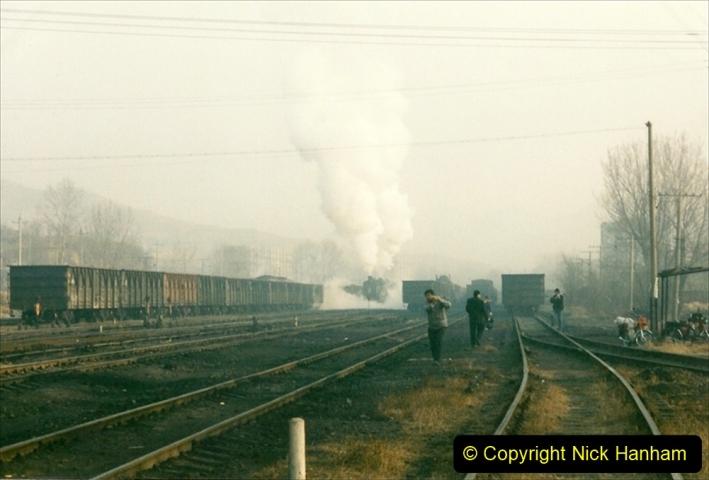 China 1997 November Number 1. (146) Steel Works shed area. 146