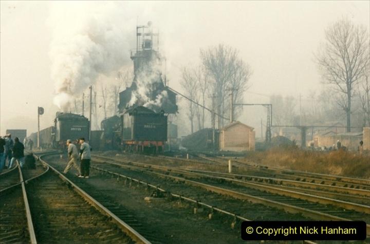 China 1997 November Number 1. (147) Steel Works shed area. 147